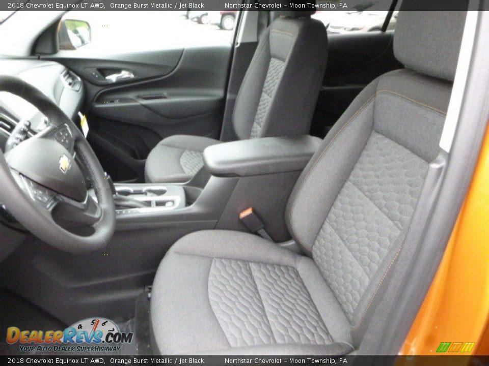 2018 Chevrolet Equinox LT AWD Orange Burst Metallic / Jet Black Photo #15