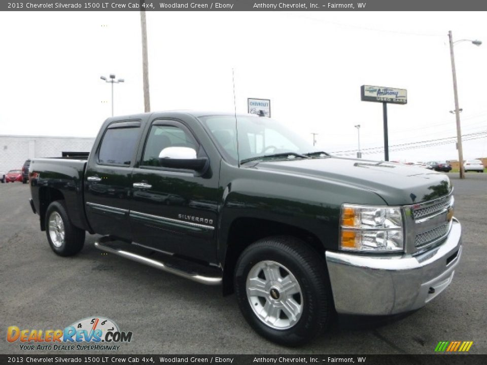 Front 3/4 View of 2013 Chevrolet Silverado 1500 LT Crew Cab 4x4 Photo #1