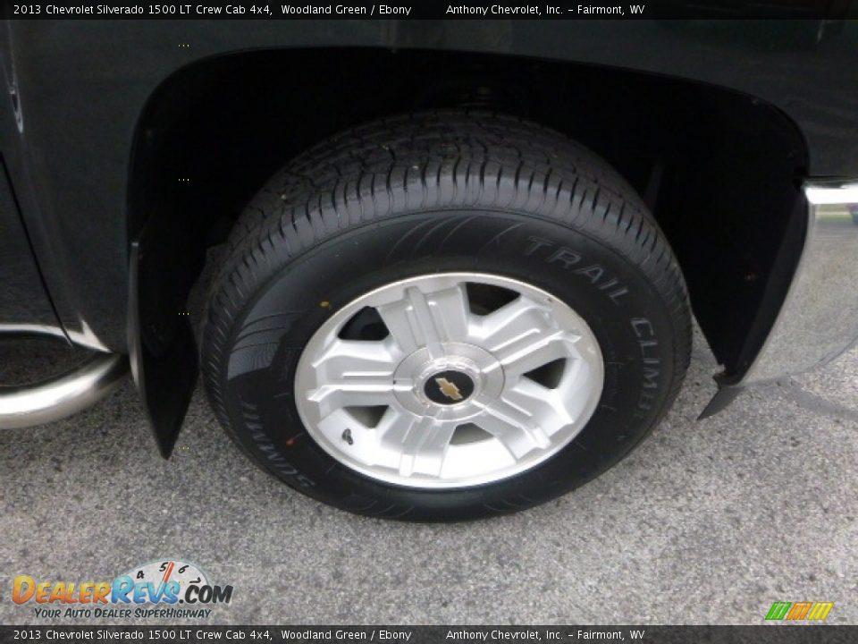 2013 Chevrolet Silverado 1500 LT Crew Cab 4x4 Woodland Green / Ebony Photo #10