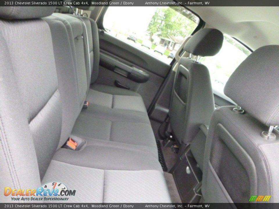 2013 Chevrolet Silverado 1500 LT Crew Cab 4x4 Woodland Green / Ebony Photo #13