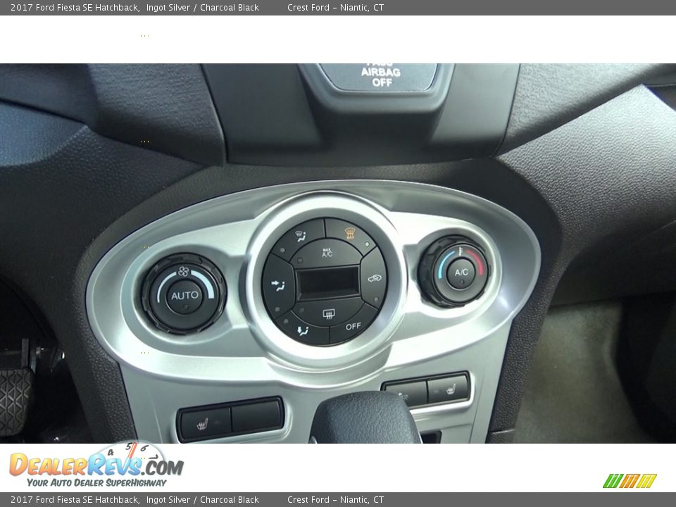 Controls of 2017 Ford Fiesta SE Hatchback Photo #16