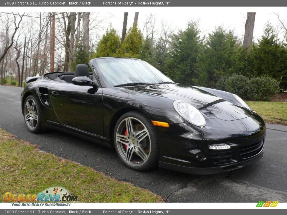 2009 porsche 911 turbo cabriolet black black photo 8. Black Bedroom Furniture Sets. Home Design Ideas