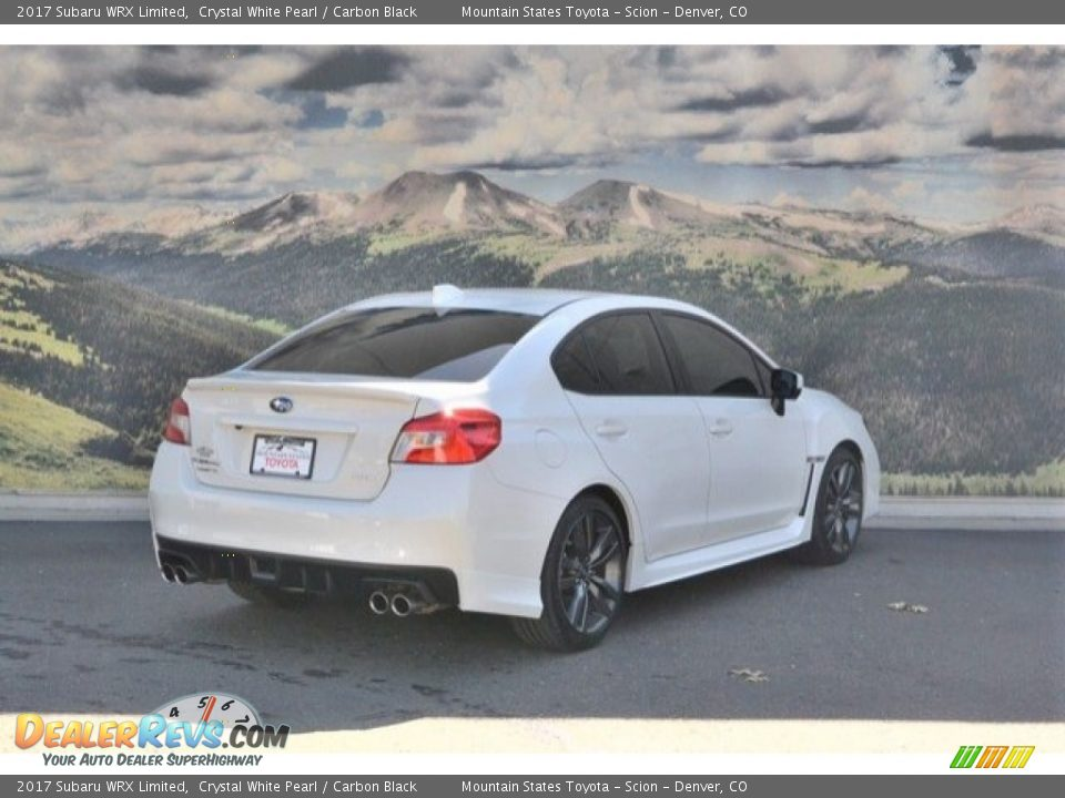 2017 Subaru WRX Limited Crystal White Pearl / Carbon Black Photo #3