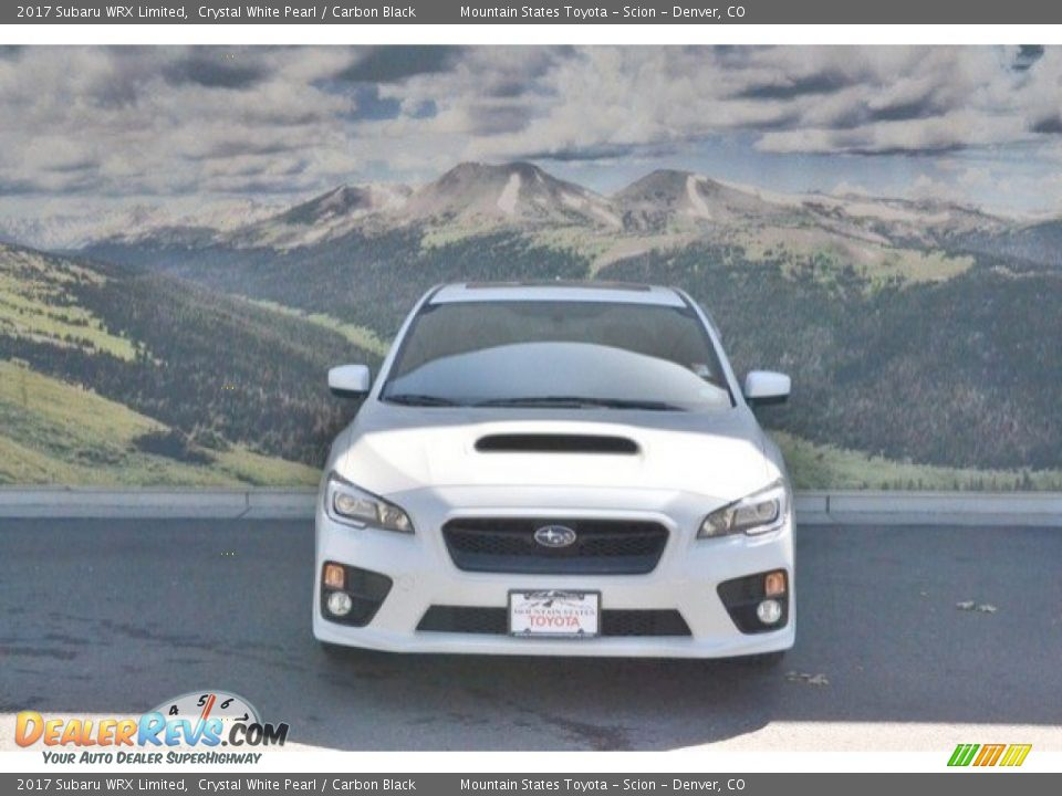 2017 Subaru WRX Limited Crystal White Pearl / Carbon Black Photo #4