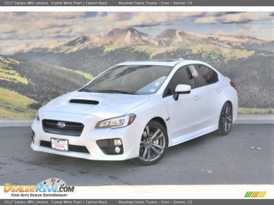 2017 Subaru WRX Limited Crystal White Pearl / Carbon Black Photo #5