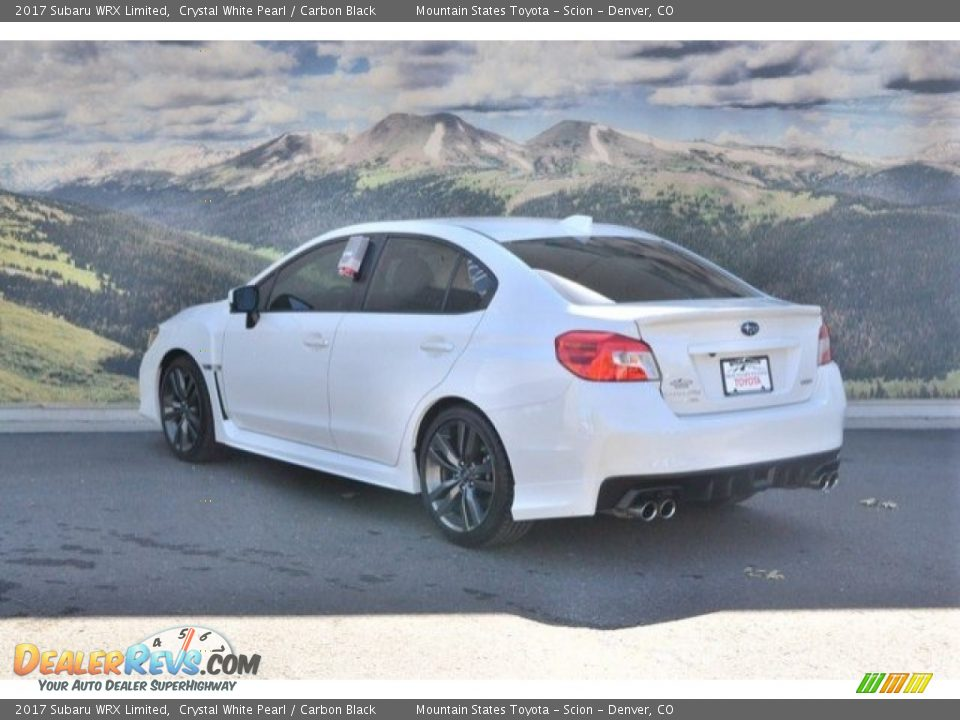 2017 Subaru WRX Limited Crystal White Pearl / Carbon Black Photo #8