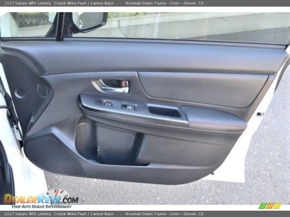 Door Panel of 2017 Subaru WRX Limited Photo #26