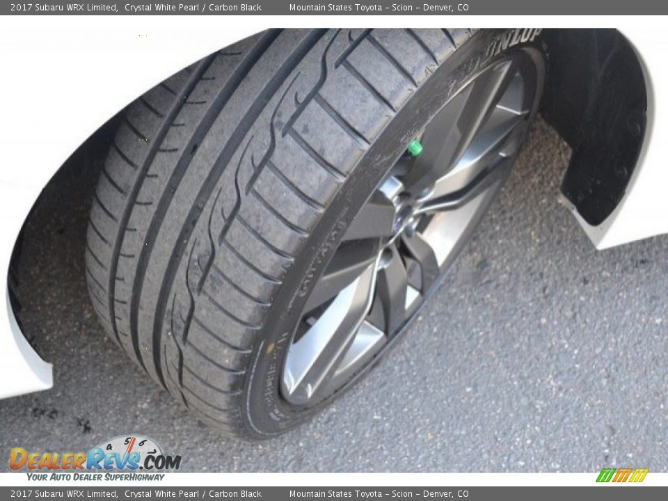 2017 Subaru WRX Limited Crystal White Pearl / Carbon Black Photo #29