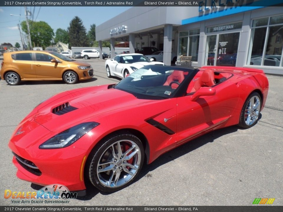 2017 Chevrolet Corvette Stingray Convertible Torch Red / Adrenaline Red Photo #2