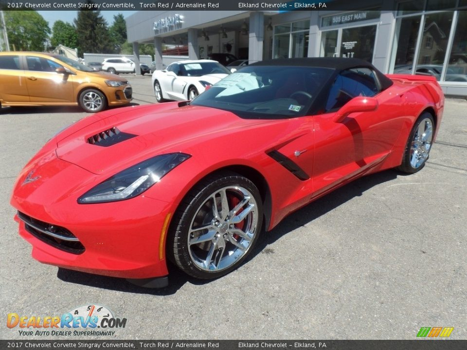 2017 Chevrolet Corvette Stingray Convertible Torch Red / Adrenaline Red Photo #5