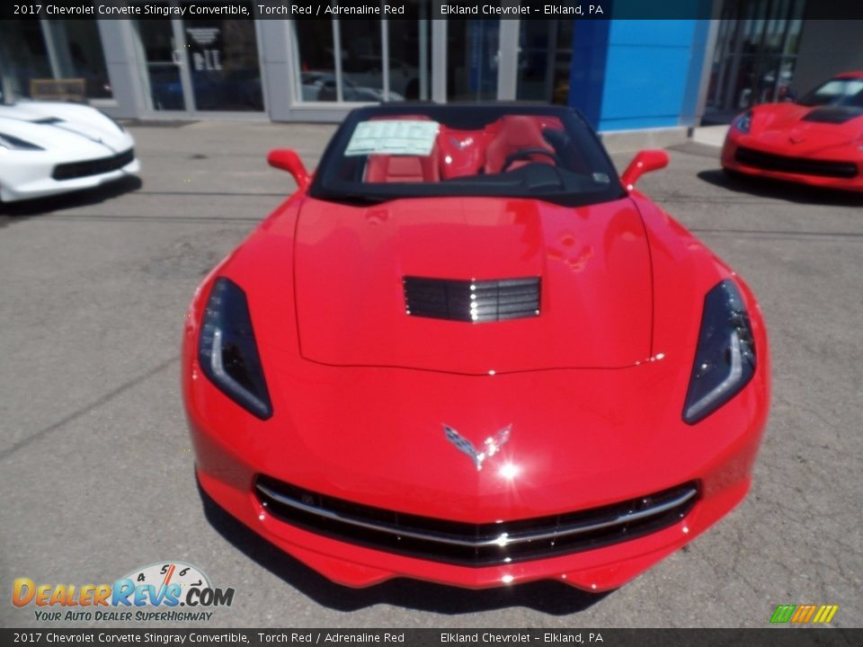 2017 Chevrolet Corvette Stingray Convertible Torch Red / Adrenaline Red Photo #6