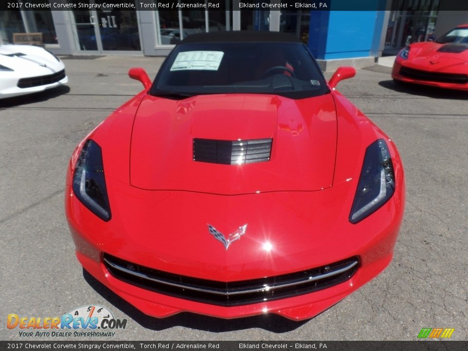2017 Chevrolet Corvette Stingray Convertible Torch Red / Adrenaline Red Photo #12