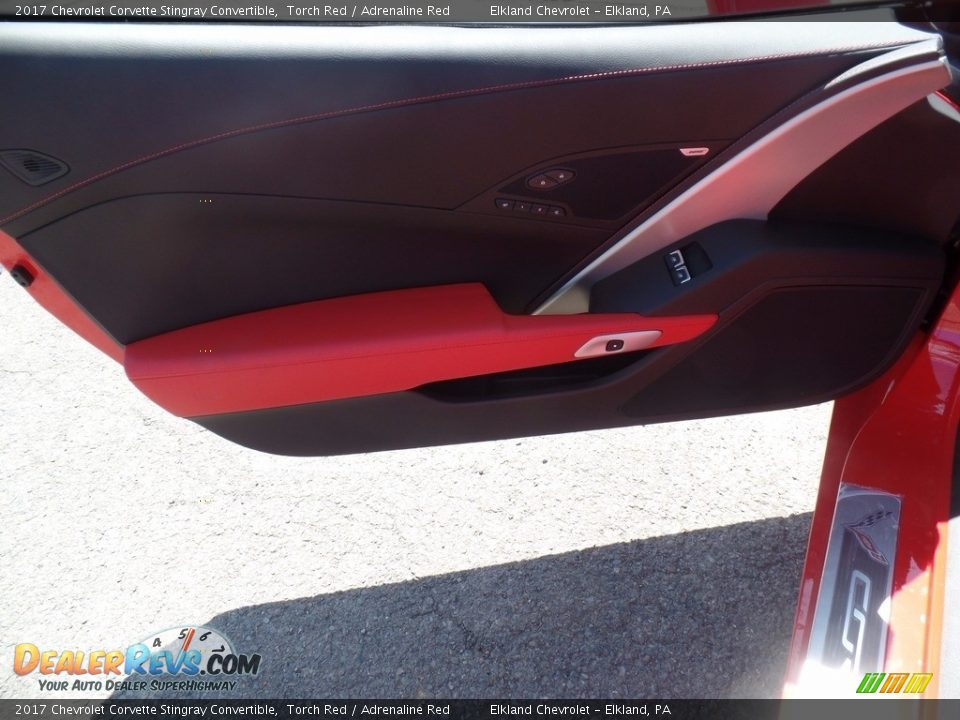 2017 Chevrolet Corvette Stingray Convertible Torch Red / Adrenaline Red Photo #21