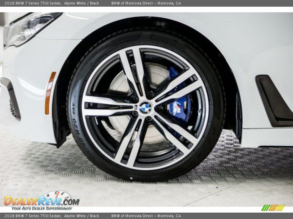 2018 BMW 7 Series 750i Sedan Wheel Photo #9
