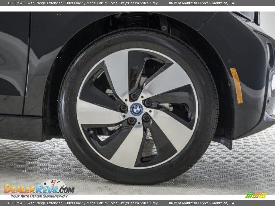 2017 BMW i3 with Range Extender Fluid Black / Mega Carum Spice Grey/Carum Spice Grey Photo #9