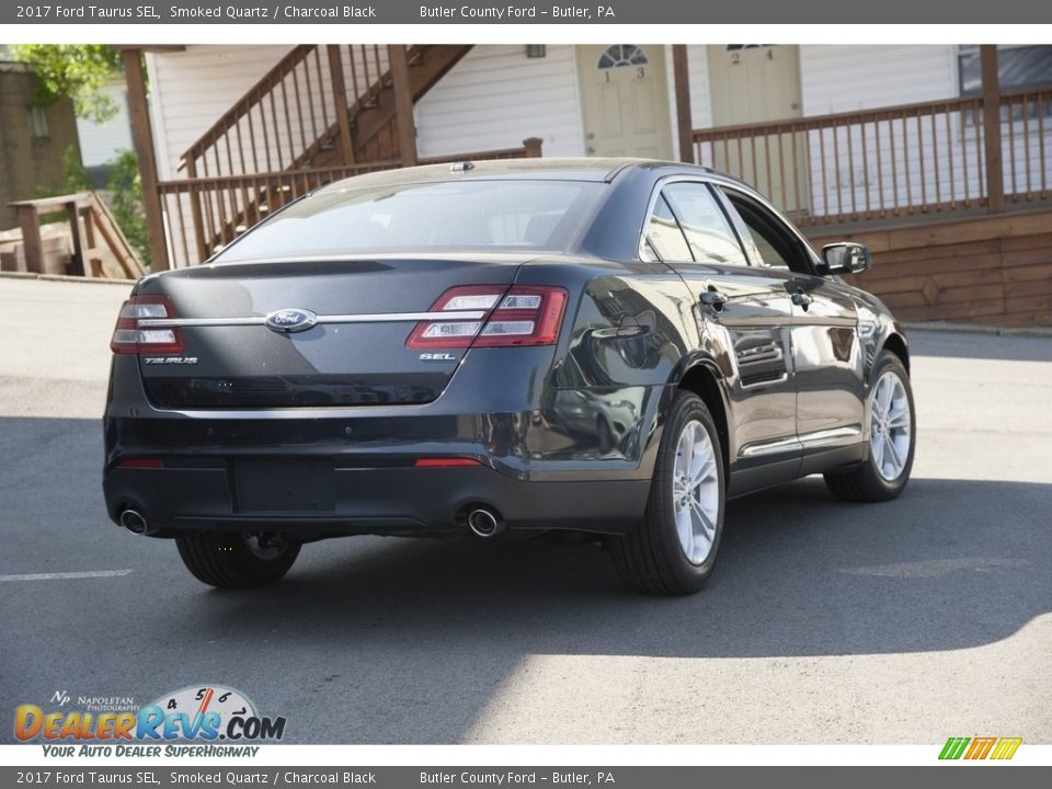 2017 Ford Taurus SEL Smoked Quartz / Charcoal Black Photo #3