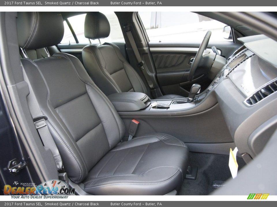 2017 Ford Taurus SEL Smoked Quartz / Charcoal Black Photo #7