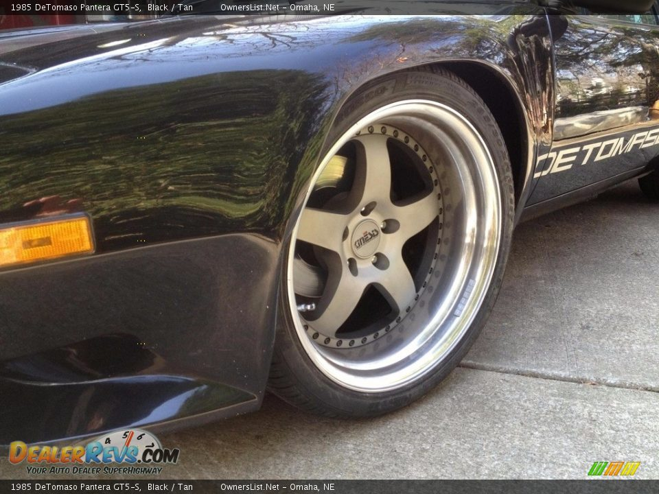 1985 DeTomaso Pantera GT5-S Wheel Photo #9