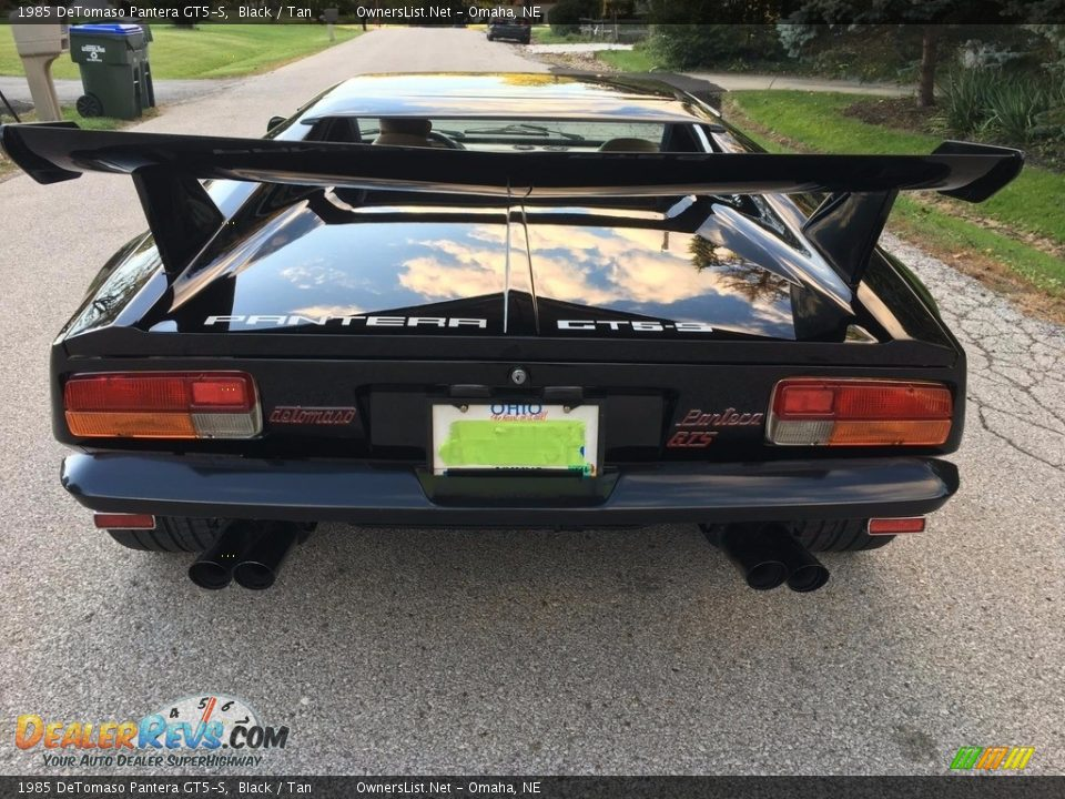 1985 DeTomaso Pantera GT5-S Logo Photo #10