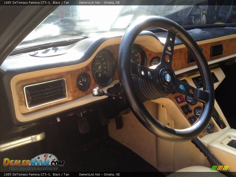1985 DeTomaso Pantera GT5-S Steering Wheel Photo #14