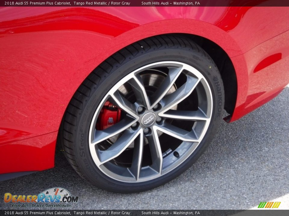 2018 Audi S5 Premium Plus Cabriolet Wheel Photo #10