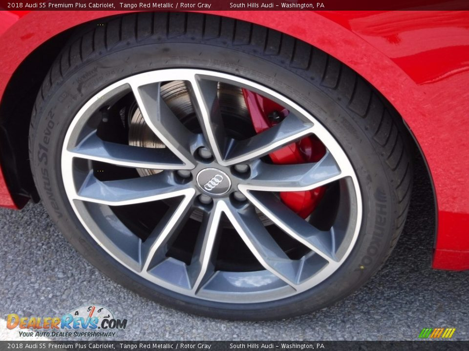2018 Audi S5 Premium Plus Cabriolet Wheel Photo #11