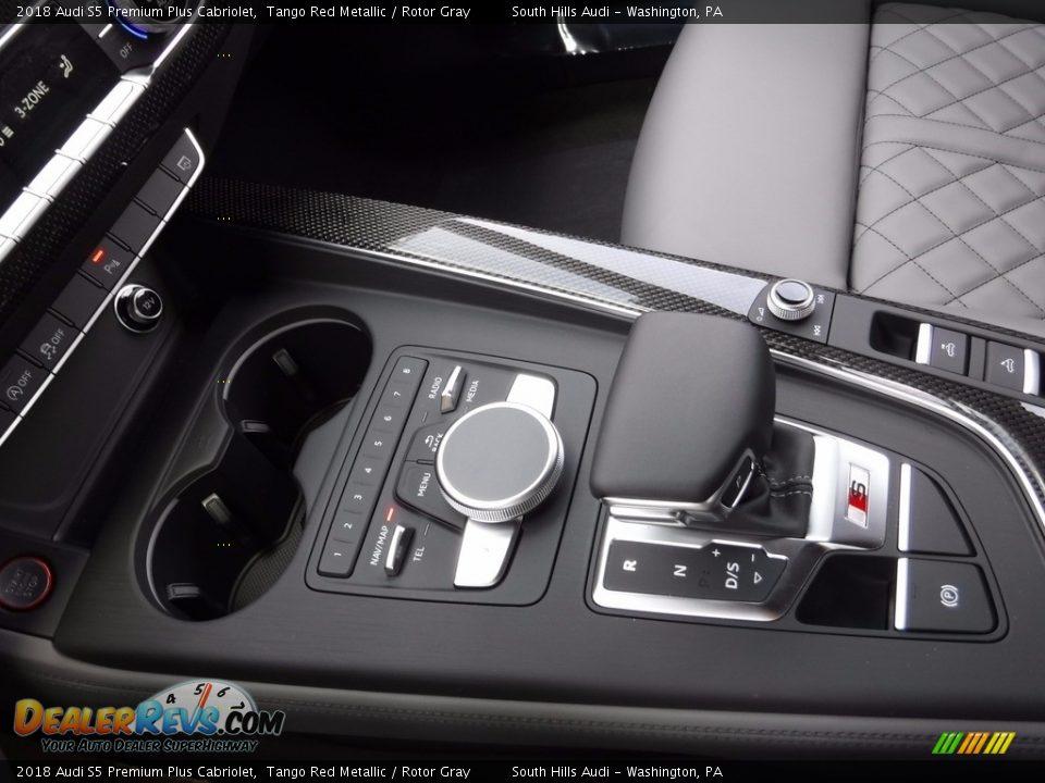 2018 Audi S5 Premium Plus Cabriolet Tango Red Metallic / Rotor Gray Photo #30