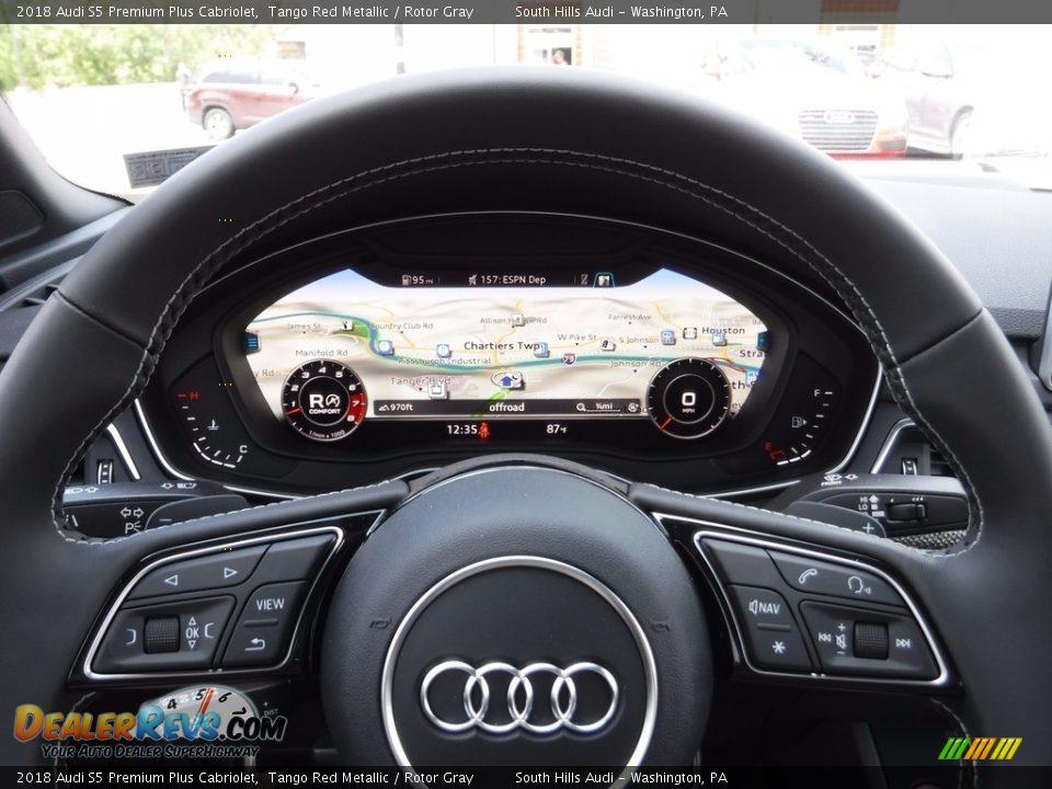Navigation of 2018 Audi S5 Premium Plus Cabriolet Photo #31