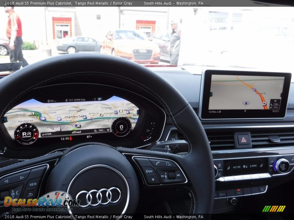 Navigation of 2018 Audi S5 Premium Plus Cabriolet Photo #32