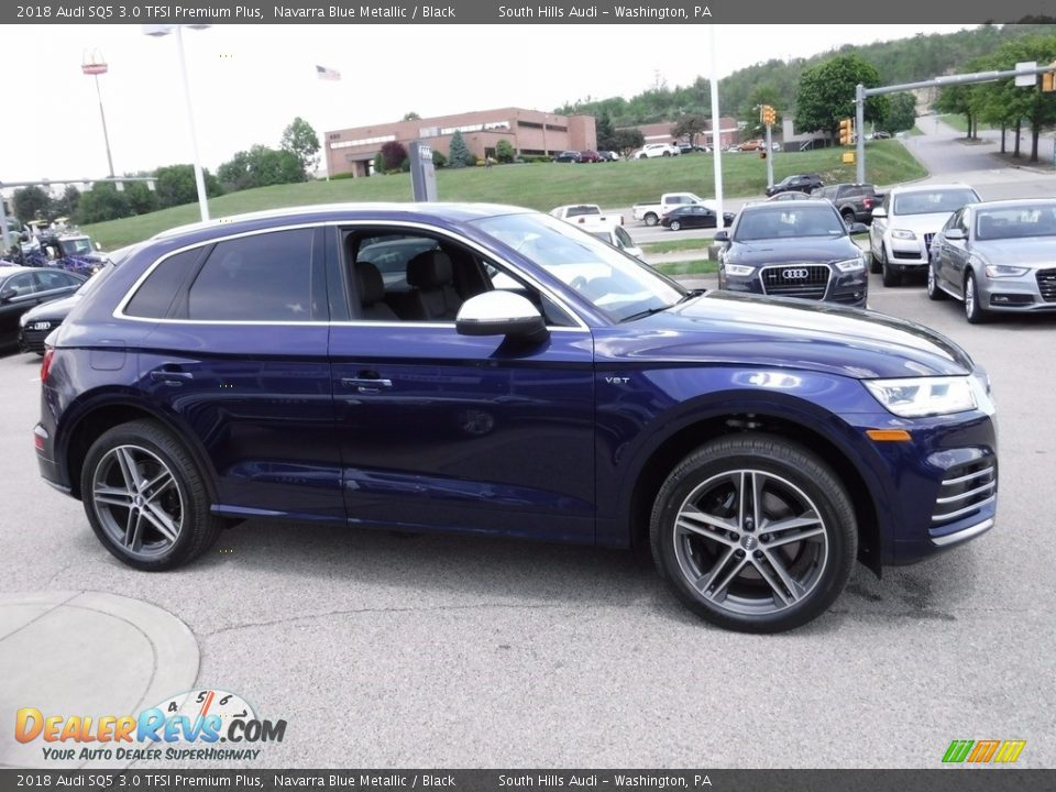 Navarra Blue Metallic 2018 Audi SQ5 3.0 TFSI Premium Plus Photo #12