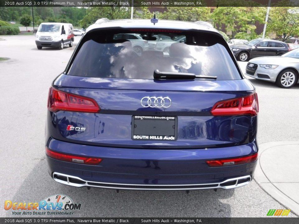 2018 Audi SQ5 3.0 TFSI Premium Plus Navarra Blue Metallic / Black Photo #14
