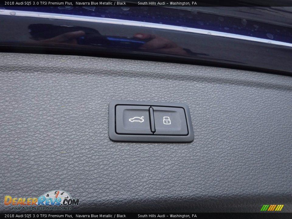 2018 Audi SQ5 3.0 TFSI Premium Plus Navarra Blue Metallic / Black Photo #23