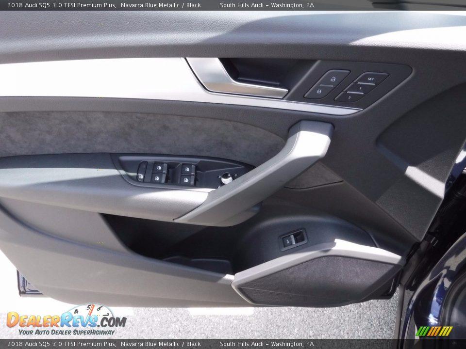2018 Audi SQ5 3.0 TFSI Premium Plus Navarra Blue Metallic / Black Photo #27