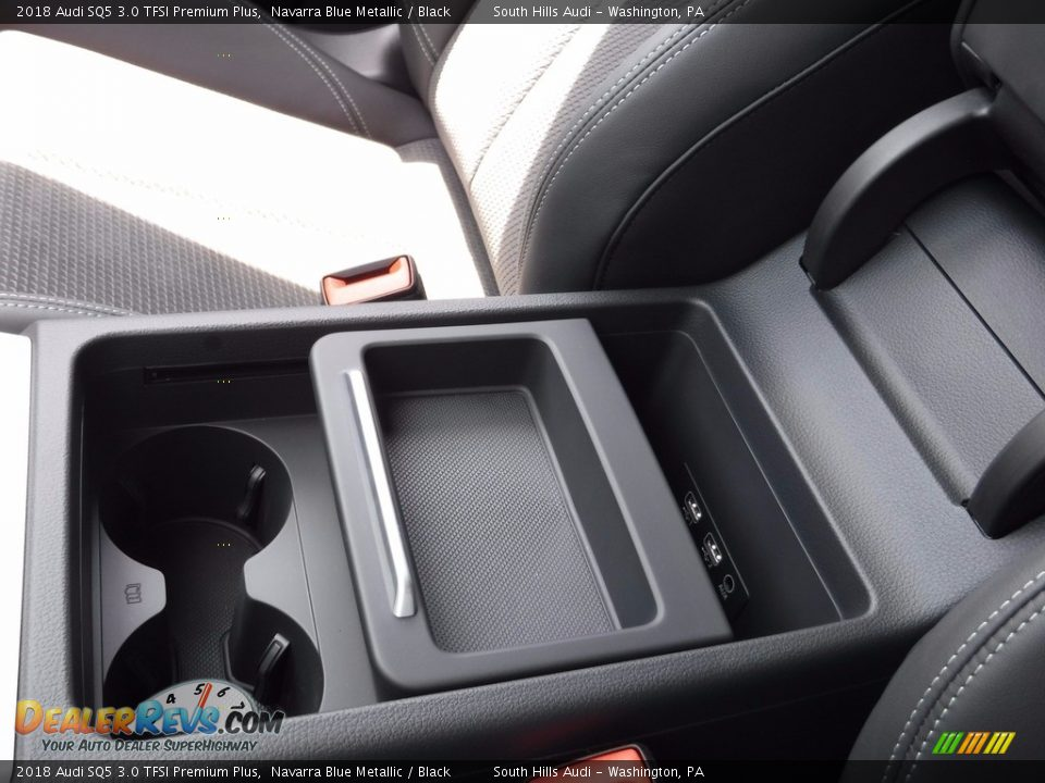 2018 Audi SQ5 3.0 TFSI Premium Plus Navarra Blue Metallic / Black Photo #33