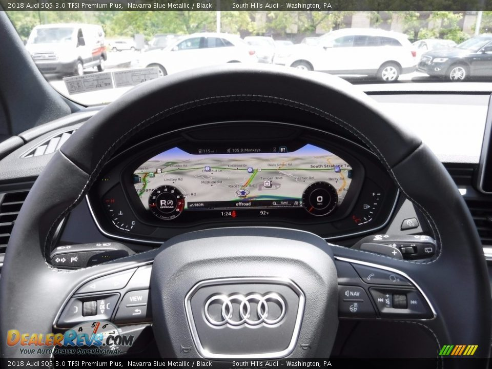 Navigation of 2018 Audi SQ5 3.0 TFSI Premium Plus Photo #35