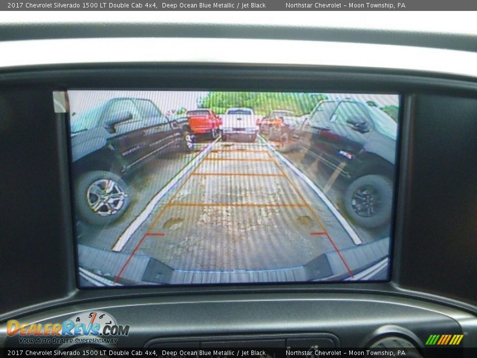 2017 Chevrolet Silverado 1500 LT Double Cab 4x4 Deep Ocean Blue Metallic / Jet Black Photo #19