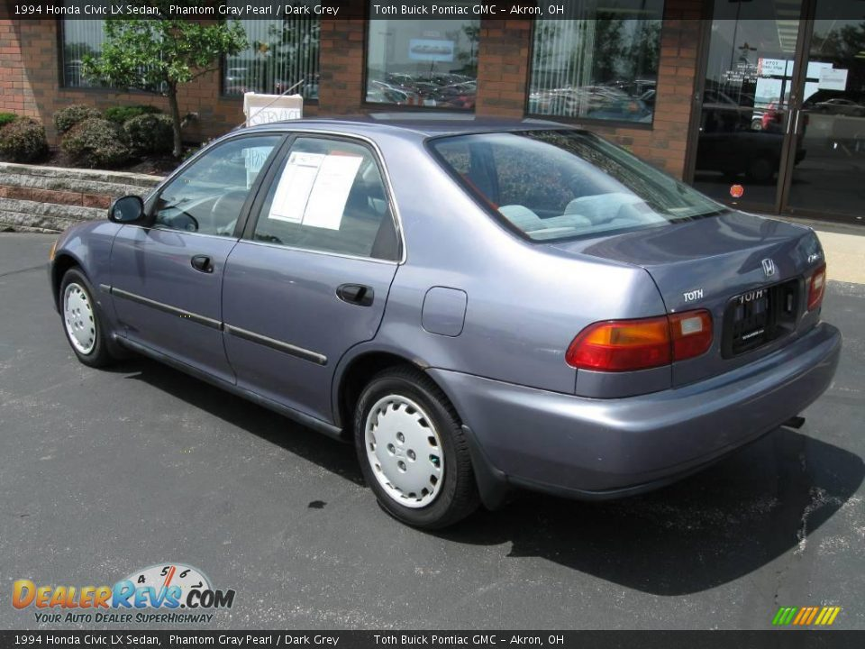 1994 honda civic lx sedan phantom gray pearl dark grey