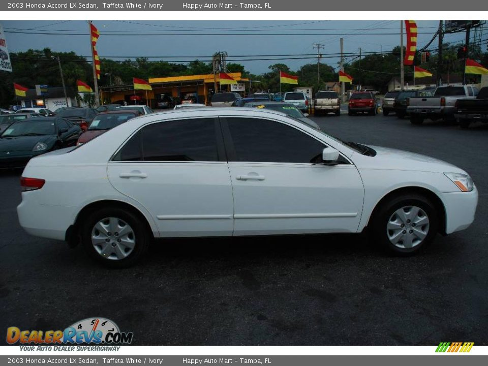 2003 honda accord lx sedan taffeta white ivory photo 9. Black Bedroom Furniture Sets. Home Design Ideas