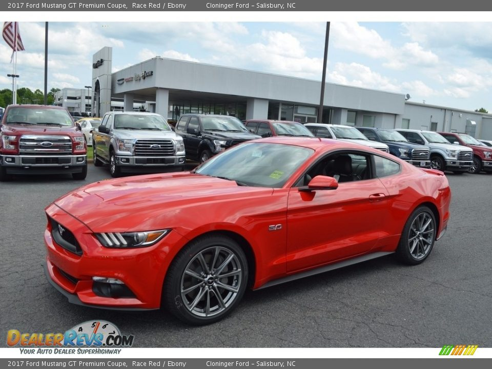 2017 Ford Mustang GT Premium Coupe Race Red / Ebony Photo #3