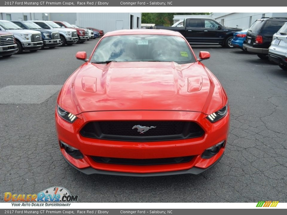 2017 Ford Mustang GT Premium Coupe Race Red / Ebony Photo #4