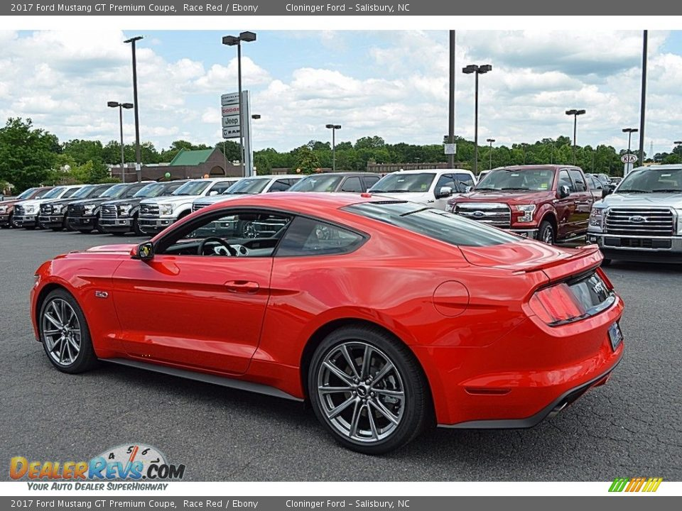 2017 Ford Mustang GT Premium Coupe Race Red / Ebony Photo #19