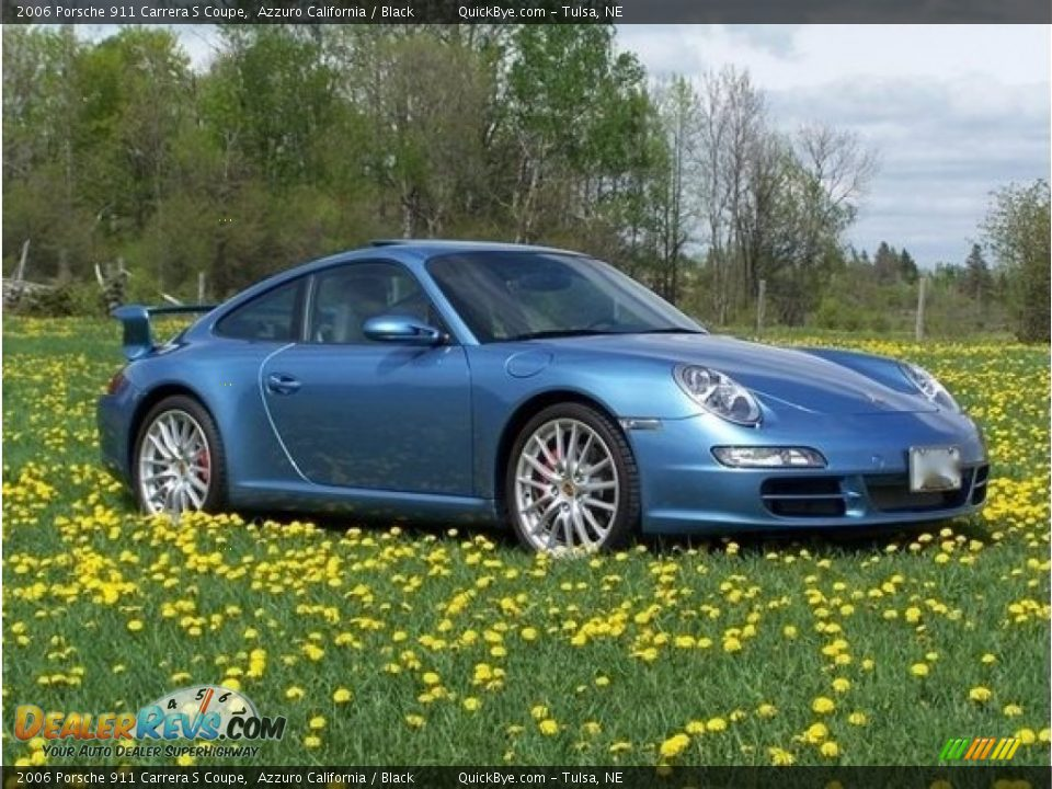 Front 3/4 View of 2006 Porsche 911 Carrera S Coupe Photo #1