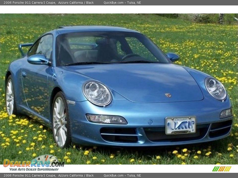 Azzuro California 2006 Porsche 911 Carrera S Coupe Photo #3