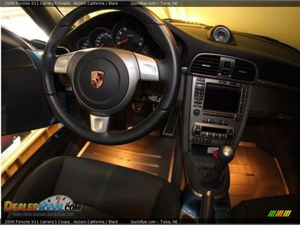 2006 Porsche 911 Carrera S Coupe Azzuro California / Black Photo #6