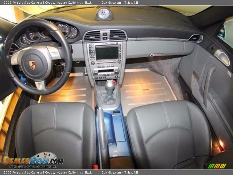 2006 Porsche 911 Carrera S Coupe Azzuro California / Black Photo #8