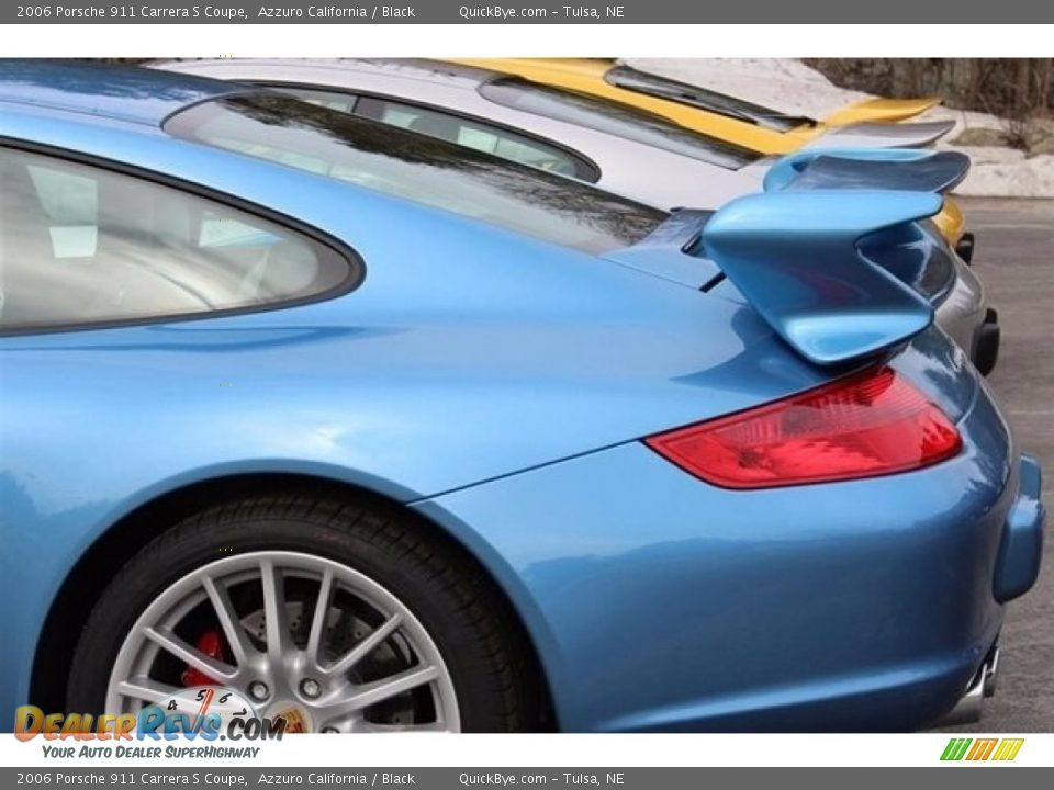 2006 Porsche 911 Carrera S Coupe Azzuro California / Black Photo #11