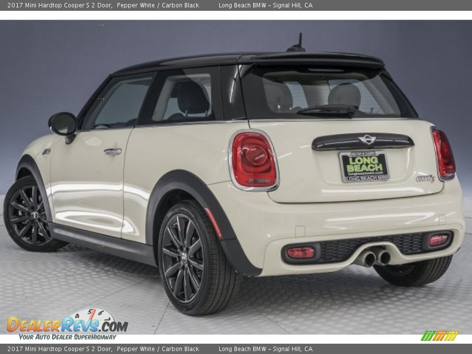 2017 Mini Hardtop Cooper S 2 Door Pepper White / Carbon Black Photo #10