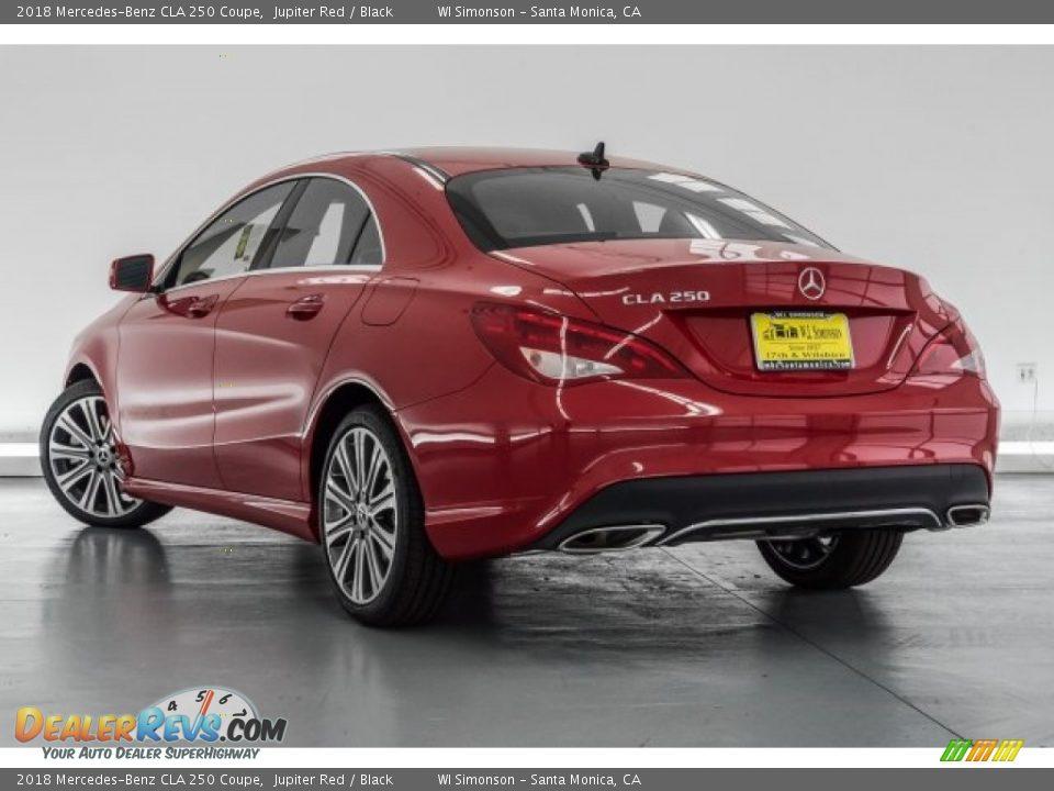 2018 Mercedes-Benz CLA 250 Coupe Jupiter Red / Black Photo #3