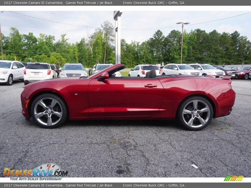 2017 Chevrolet Camaro SS Convertible Garnet Red Tintcoat / Jet Black Photo #3