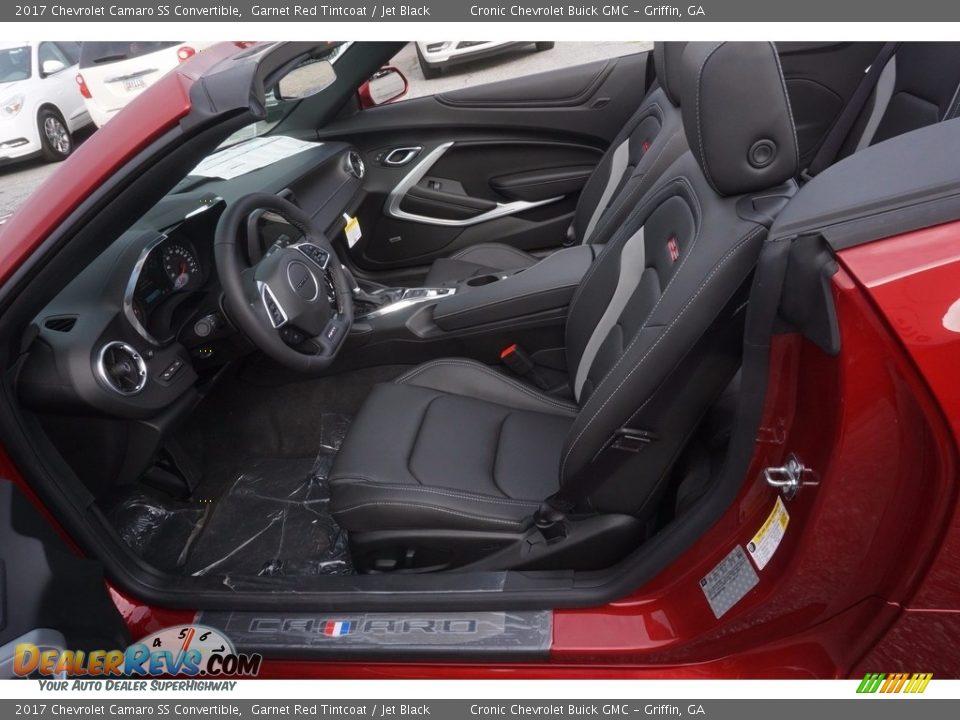 2017 Chevrolet Camaro SS Convertible Garnet Red Tintcoat / Jet Black Photo #8
